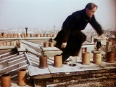 Man on the Eiffel Tower (film still)